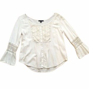 AMERICAN EAGLE OUTFITTERS || Peasant Top